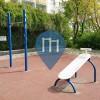 Berlin - Prenzlauer Berg - Outdoor Fitness Anlage - Ernst-Thälmann-Park