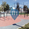 Barra per trazioni all'aperto - Tours - Street Workout Park Tours