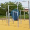 "Karlsruhe - Parque Calistenia - Jugendtreff ""Blaues Haus"""