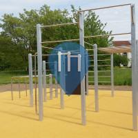 """Karlsruhe - Parc Street Workout - Jugendtreff """"Blaues Haus"""""""