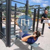 Mandelieu-la-Napoule - Ginásio ao ar livre - Aire de fitness en accès libre
