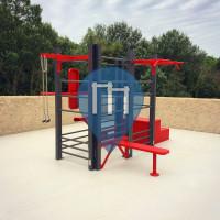 Carpentras - Parc Street Workout - Aire de fitness en accès libre