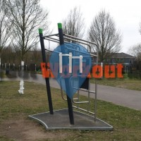 Гамбург - Воркаут площадка - Allermöhe
