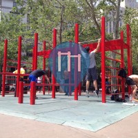 New York - Parco Calisthenics - Columbus Park