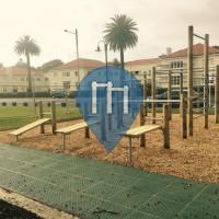 Auckland - Parco Calisthenics - Mission Bay Beach