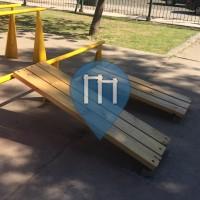 Буэнос-Айрес - уличных спорт площадка - Parque Centenaria