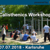 Karlsruhe – Calisthenics Workshop by Calisthenics Parks / Playparc