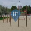 Мадрид - уличных спорт площадка - Parque Lineal del Manzanares