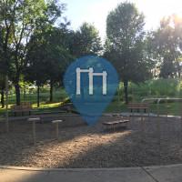 New Brighton (Minnesota) - Outdoor Exercise Park - Long Lake Regional Park