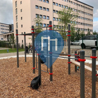 Воркаут площадка - Мюнхен - Calisthenics Gym Obersendling