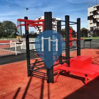 Мёдон - уличных спорт площадка - Aire de musculation en accès libre