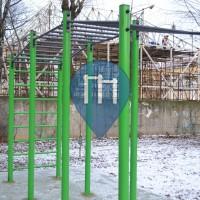 St. Petersburg - Ginasio ao ar livre - Zastavskaya ulitsa
