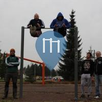 Sokolov - Street Workout Park - Jelínkova