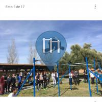 Parque Calistenia - Jaén - Parque street workout Jaén