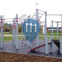 Jihlava - Street Workout Park - Workout Club