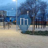 Móstoles - Parco Calisthenics - Parque Calistenia Polideportivo El Soto