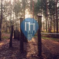 Карлсруэ - Воркаут площадка - Hardtwald