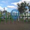 Щецин - Воркаут площадка - Jezioro Słoneczne