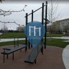San José - Calisthenics-Anlage - Riverview Park Outdoor fitness spot