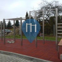Krosno - Street Workout Park - Stanisława Wyspiańskiego
