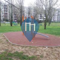 Милан - уличных спорт площадка - Parco Cascina Bianca