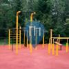 Rabka-Zdrój - Street Workout Park  - Park Zdrojowy