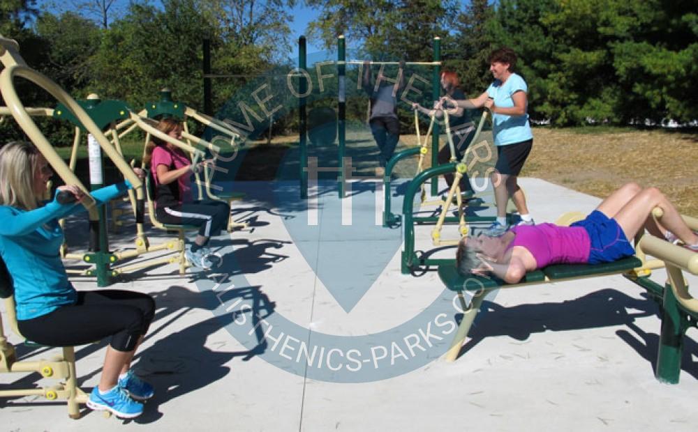 Dublin Ohio Exercise Park Community Recreation