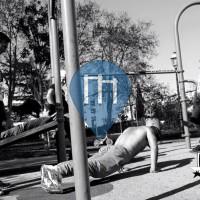 Montpellier - 徒手健身公园 - Parc Dioscoride