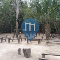 Exercise Stations - Cancún - Calisthenics park Kabah Cancun