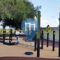 Barras dominadas - Perth - Outdoor Fitness Beaton Park