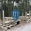 Puolarmetsä - уличных спорт площадка - Espoon Akilleksen maja