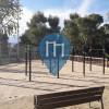 Лерида - Воркаут площадка - Parc de Santa Cecilia