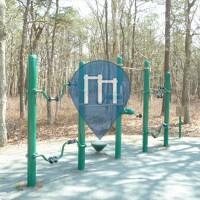 South Dennis -  Воркаут площадка - Johnny A. Kelley Recreation Area