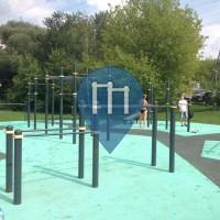 Москва - Воркаут площадка - парк Levoberezhniy