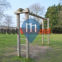London – Calisthenics Park - Brockwell Park/Brixton