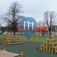 London – Street Workout Park – Clapham Common