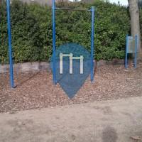 Davis (California) - Outdoor Calisthenics Gym - Walnut Park