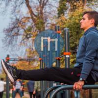 Sibiu - Calisthenics Stations - Street Workout Park Parcul Corneliu Coposu