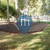 Brisbane - Fitness Trail - Denham Boulevard Park Fitness Equipment