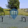 Køge - Outdoor Fitness Station - Promenade Køge Marina