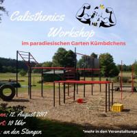 Paradiesischer Calisthenics Workshop