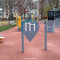 Gimnasio al aire libre - Budapest - Outdoor Gym Gazdagrét fitness park