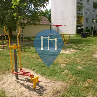 Orosháza - Outdoor Fitness Geräte - Pacsirta utca