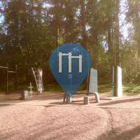 Helsinki - Parque Calistenia - Jalkapallostadion