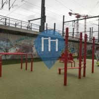 Calisthenics Park - Paris - Outdoor Fitness Rue d'Aubervilliers / rue de Crimée