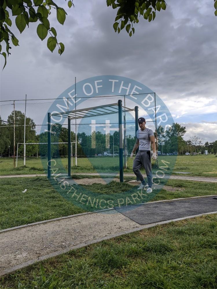 Outdoor Gym Zagreb Calisthenics Park Travno Croatia Spot