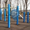 New York City - Outdoor Training Exercise Stations - Eastern River Park