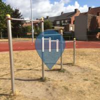 Roeselare - Barra per trazioni all'aperto - Stedelijk sportstadion
