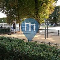 Paris  - Parque Outdoor Fitness - Jardin de Luxembourg