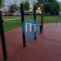 Dresden - Outdoor-Fitnessstation - Stadtblickpark